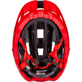 Fox Flux Helm bright red